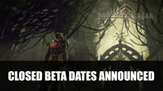 Babylon's Fall Closed Beta Dates Announced