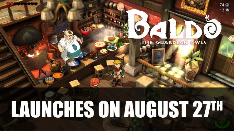 Baldo: The Guardian Owls to Launch on August 27th for PS4, Xbox One, Switch, PC, and Apple Arcade
