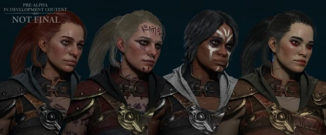Diablo 4 Physical Appearance