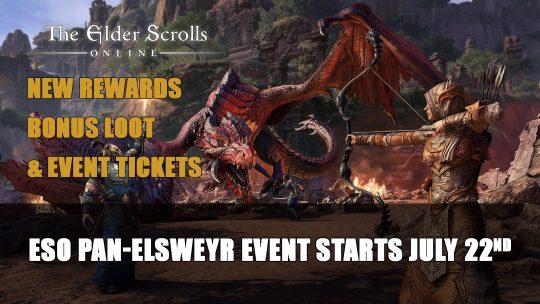 The Elder Scrolls Online Pan-Elsweyr Celebration Starts July 22nd
