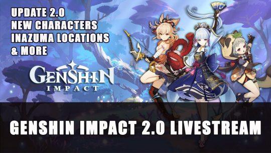 Genshin Impact 2.0 Revealed! Screenshots of Inazuma Location and New Characters: Ayaka, Yoimiyo, Sayu
