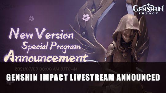 Genshin Impact Livestream Announced; Possible 2.0 Inazuma Details