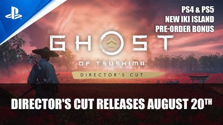 Ghost of Tsushima: Director's Cut Releases August 20th for PS5 & PS4