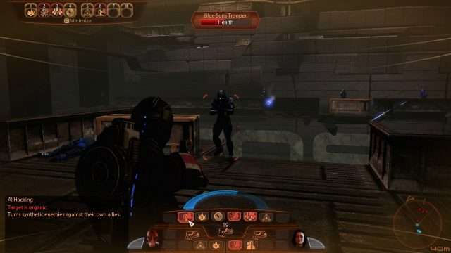 Mass Effect 2 AI Hacking in Combat (Engineer)