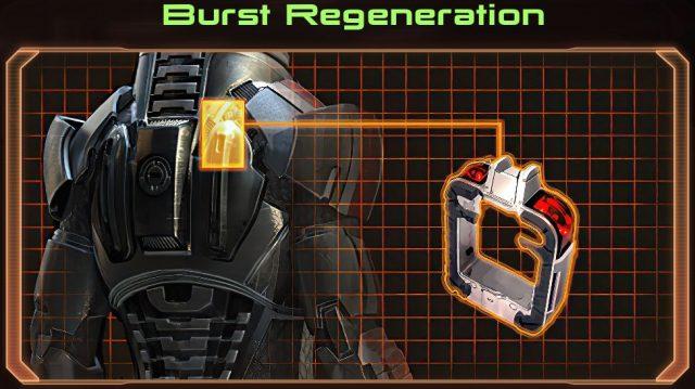 Mass Effect 2 Burst Regeneration