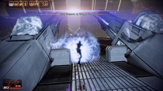 Mass Effect 2 Charge Combat (Vanguard)