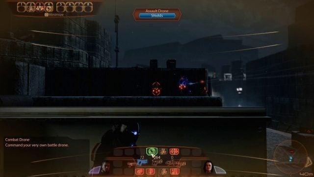 Mass Effect 2 Combat Drone Command HUD (Engineer)