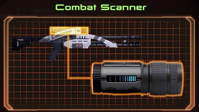 Mass Effect 2 Combat Scanner