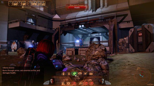 Mass Effect 2 Inferno Ammo UI (Vanguard)