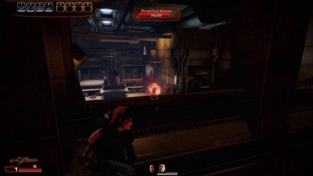 Mass Effect 2 Infiltrator Incinerate in Combat
