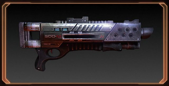 Mass Effect 2 M-300 Claymore Shotgun