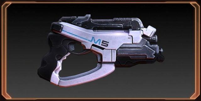 Mass Effect 2 M-5 Phalanx Heavy Pistol