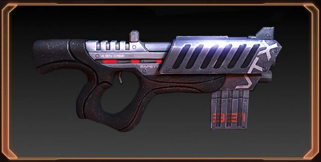 Mass Effect 2 M-9 Tempest