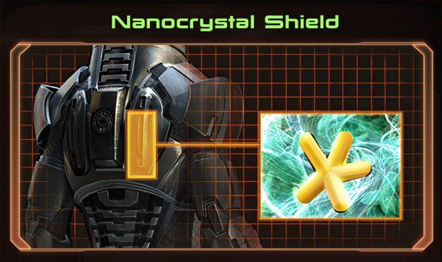 Mass Effect 2 Nanocrystal Shield