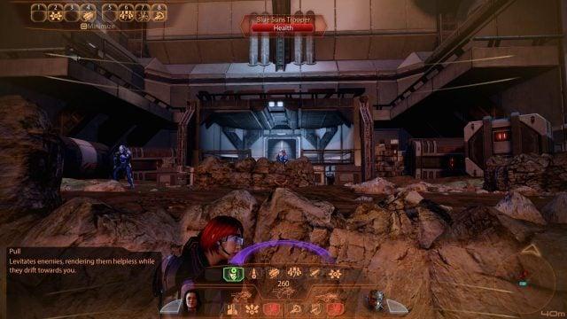 Mass Effect 2 Pull Command HUD (Vanguard)