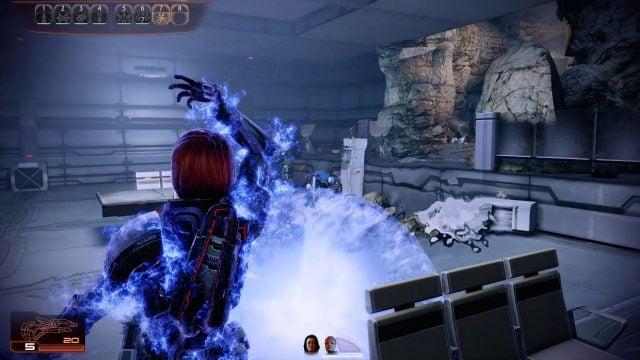Mass Effect 2 Shockwave in Combat (Vanguard)