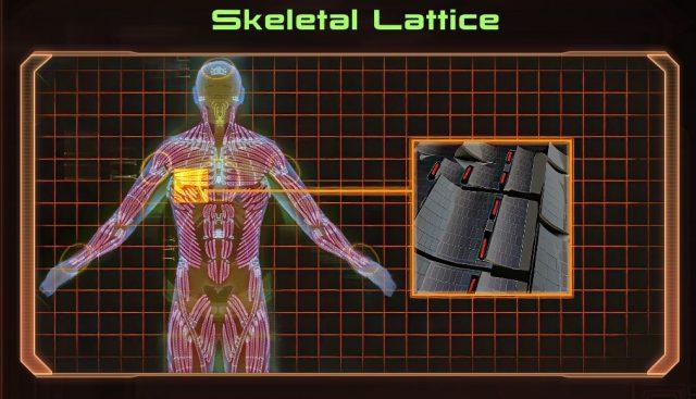 Mass Effect 2 Skeletal Lattice