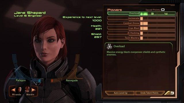 Mass Effect Legendary Edition Engineer Build (Mass Effect 2)
