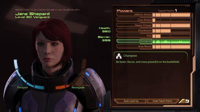 Mass Effect Legendary Edition Vanguard Build (Mass Effect 2)