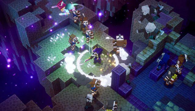 Minecraft Dungeons Echoing Void DLC 02 Minecraft Dungeons Gets Echoing Void DLC July 28th; Minecraft Dungeons Ultimate Edition Announced