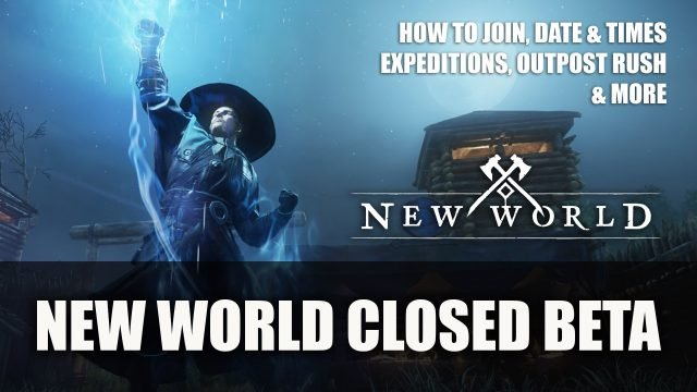 The New World, War Beta 34: How to Join, Details: Date and Time