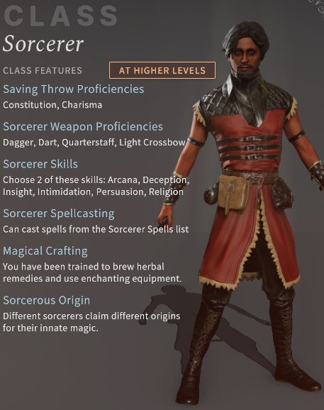 Solasta New Sorcerer Class