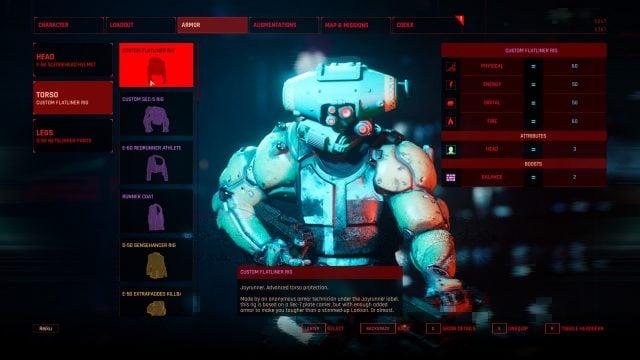 The Ascent Build Guide Armor Selection (Custom Flatliner Rig)