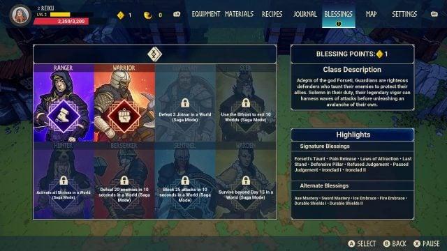 Tribes of Midgard Classes