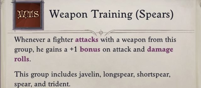 weapon-training-spears-cavalier-pathfinder-wrath-of-the-righteous