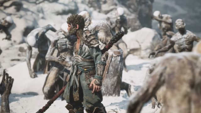 Black Myth Wukong Trailer Unreal Engine Gameplay 01 Black Myth Wukong Gameplay Impressions & Reaction to the Unreal Engine 5 Trailer