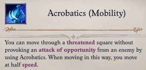 Camellia Acrobatics (Mobility) Pathfinder WotR