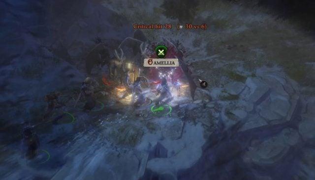 Camellia Critical Hit in Combat Pathfinder WotR