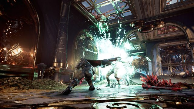Combat Silvermane01 PC 4K Godfall Fire & Darkness Review & Lightbringer Update