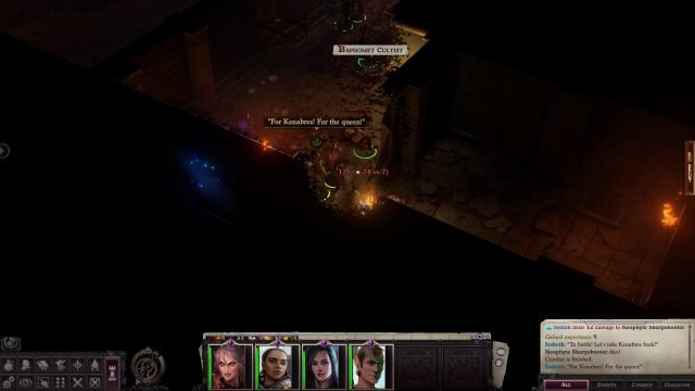 Damage in Combat Pathfinder Wrath of the Righteous