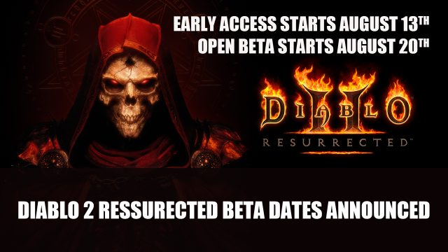 Diablo 2 Ressurected beta dates announced Top RPG News Of The Week: August 15th (Diablo 2, Pathfinder Wrath of the Righteous, Tales of Arise and More!)