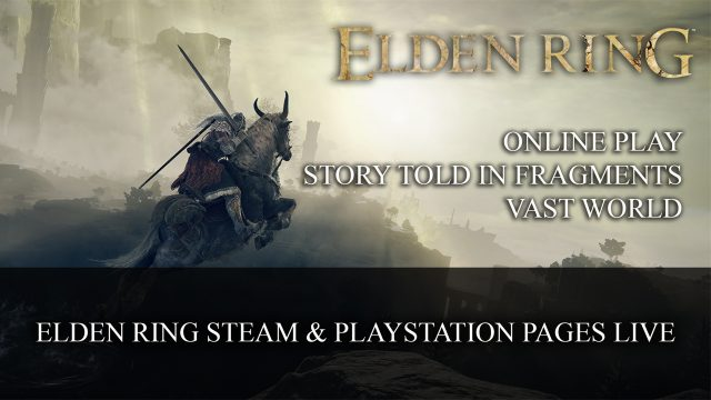 Elden Ring Elden Ring steam playstation pages live Top RPG News Of The Week: August 8th (Elden Ring, Diablo 2 Resurrected, New World and More!)