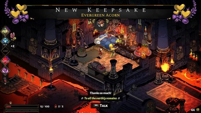 Hades Evergreen Acorn Keepsake (Choose the Best Keepsakes)
