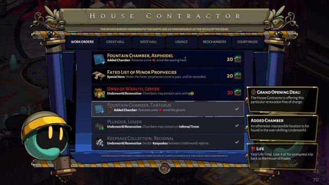 Hades House Contractor Work Orders (Focus on Unlocking Work Orders)