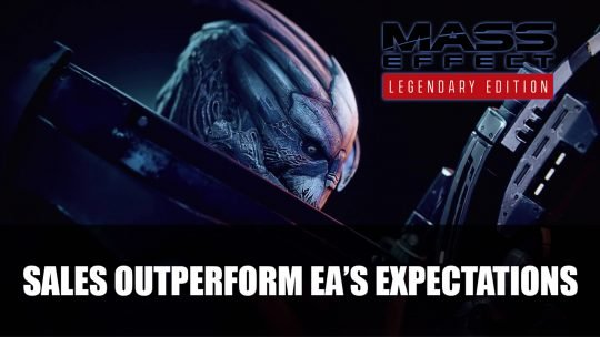 """Mass Effect: Legendary Edition Does """"Well Above Expectations"""" in Sales"""
