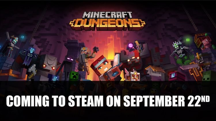 Minecraft Dungeons Comes to Steam in September