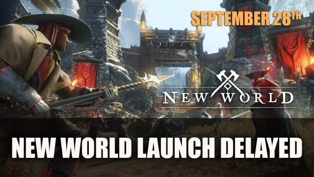 New World Launch Delayed to September 28th 2021 Top RPG News Of The Week: August 8th (Elden Ring, Diablo 2 Resurrected, New World and More!)