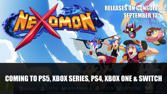 Nexomon Coming to PS5, Xbox Series, PS4, Xbox One and Switch on September 17th