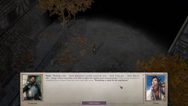 Pathfinder WotR Companions and Difficulty Settings Recruiting Nenio