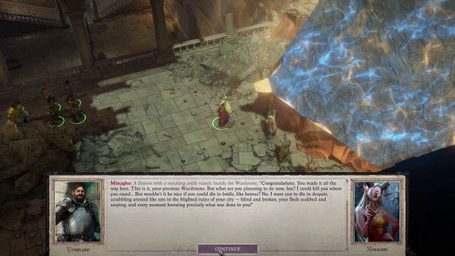 Pathfinder WotR Review Impressions Audio Dialogue with Minagho