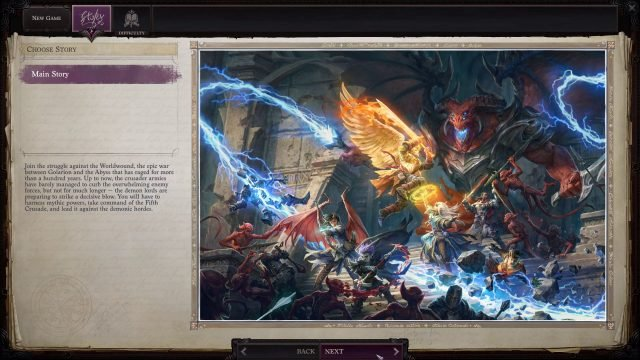 Pathfinder WotR Review Impressions Story and Setting