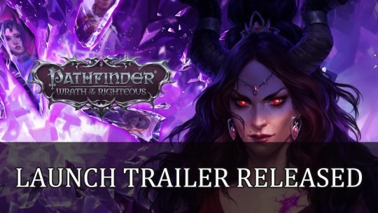 Pathfinder Wrath of the Righteous Gets Launch Trailer