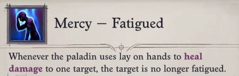Seelah Mercy - Fatigued Pathfinder WotR