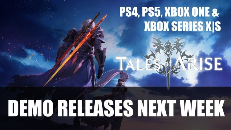 Tales of Arise will get a Playstation and Xbox Demo Next Week