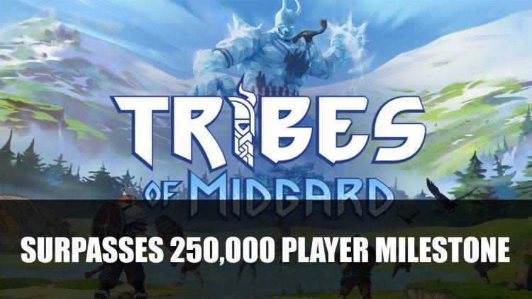 Tribes of Midgard Surpasses 250K Player Milestone