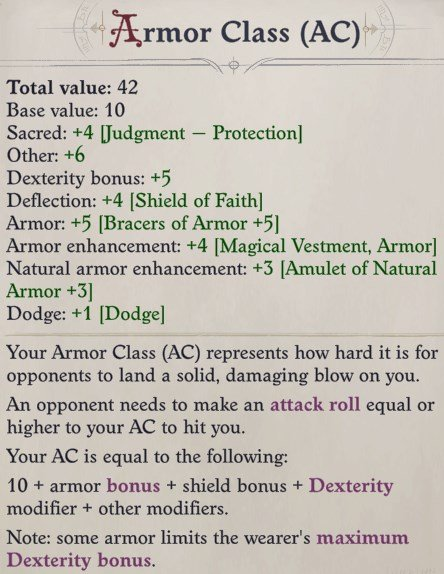 42 Armor Class Faith Hunter Inquisitor Pathfinder Wrath of the Righteous Build